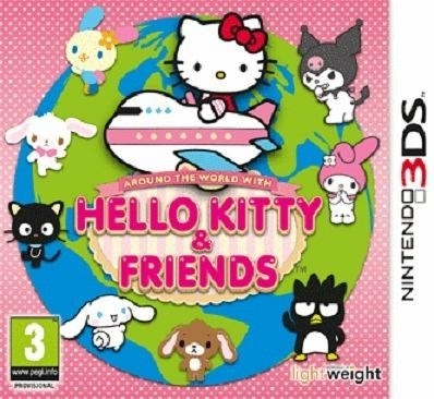 Boxshot Around the World with Hello Kitty and Friends