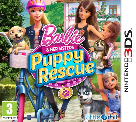 Boxshot Barbie and her Sisters Puppy Rescue