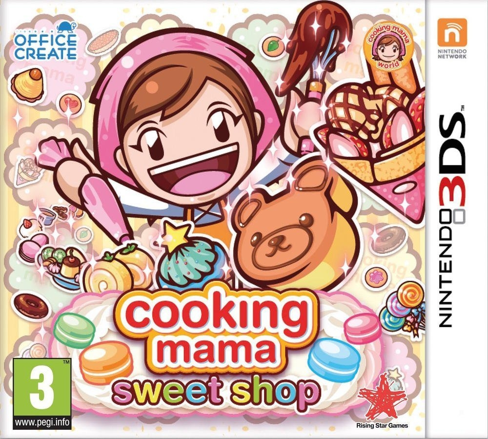 Boxshot Cooking Mama: Sweet Shop