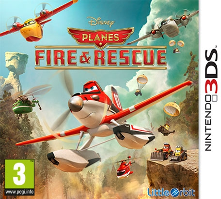 Boxshot Disney Planes: Fire & Rescue