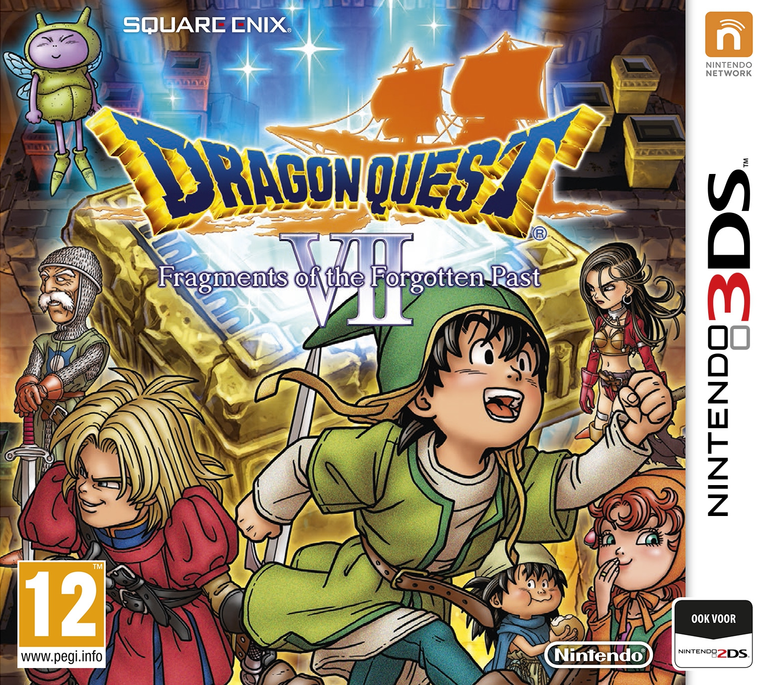 Boxshot Dragon Quest VII: Fragments of the Forgotten Past