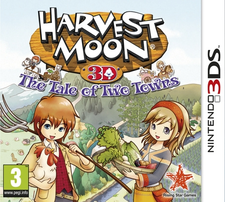 Boxshot Harvest Moon: The Tale of Two Towns