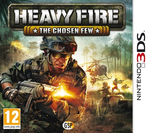 Boxshot Heavy Fire: The Chosen Few 3D