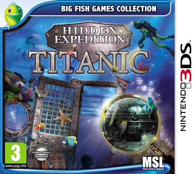 Boxshot Hidden Expedition: Titanic