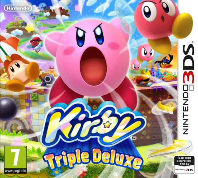 Boxshot Kirby: Triple Deluxe