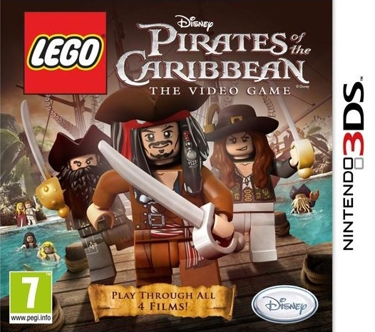 Boxshot LEGO Pirates of the Caribbean: The Video Game