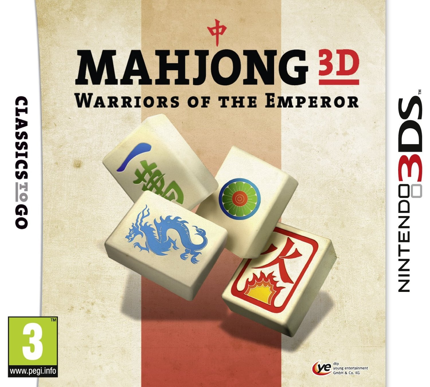 Boxshot Mahjong 3D: Warriors of the Emperor