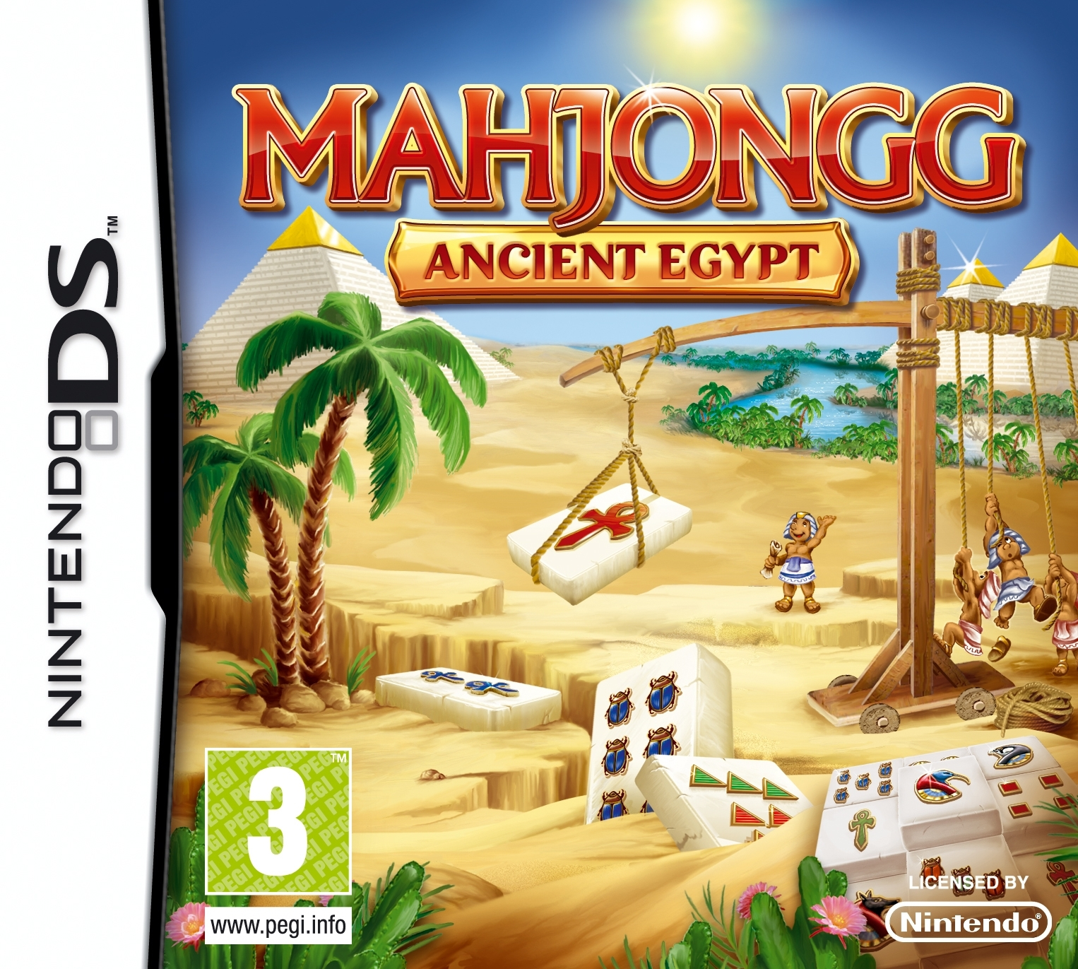 Boxshot Mahjongg Ancient Egypt