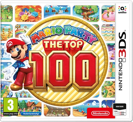 Boxshot Mario Party: The Top 100