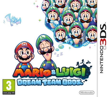 Boxshot Mario & Luigi: Dream Team Bros.