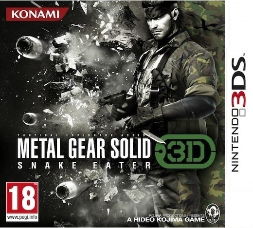 Boxshot Metal Gear Solid: Snake Eater 3D
