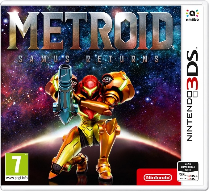 Boxshot Metroid: Samus Returns