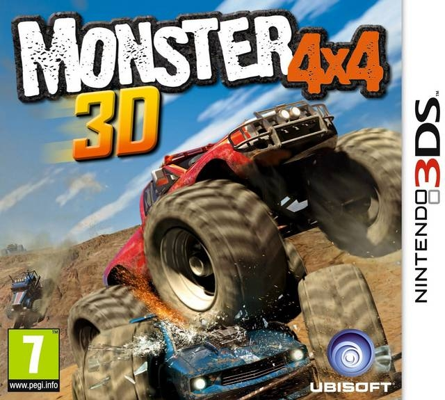 Boxshot Monster 4x4 3D