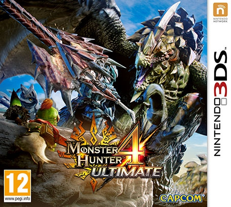 Boxshot Monster Hunter 4 Ultimate