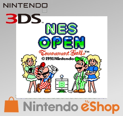 Boxshot NES Open Tournament Golf