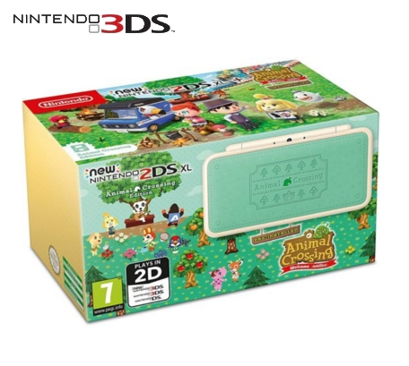 Boxshot New Nintendo 2DS XL Animal Crossing Edition