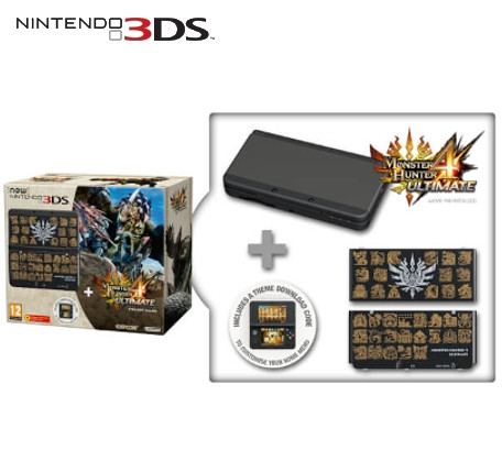 Boxshot New Nintendo 3DS Monster Hunter 4 Ultimate Limited Edition