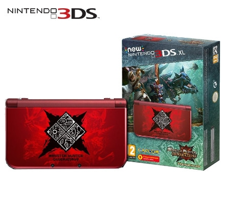 Boxshot New Nintendo 3DS XL Monster Hunter Generations Limited Edition
