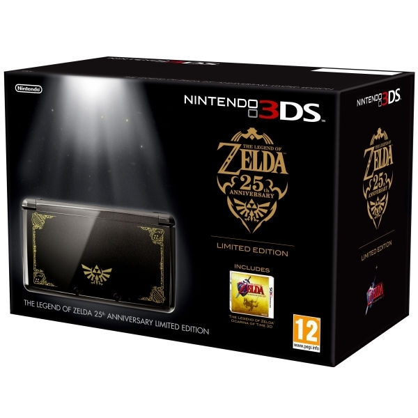Boxshot Nintendo 3DS The Legend of Zelda 25th Anniversary Limited Edition