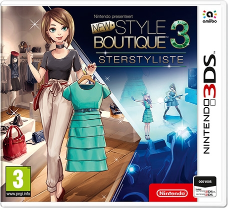 Boxshot Nintendo presenteert: New Style Boutique 3 - Sterstyliste