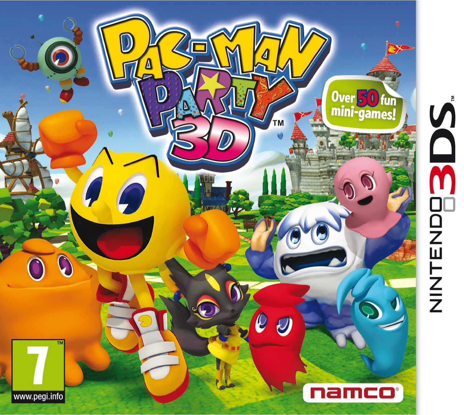 Boxshot Pac-Man Party 3D