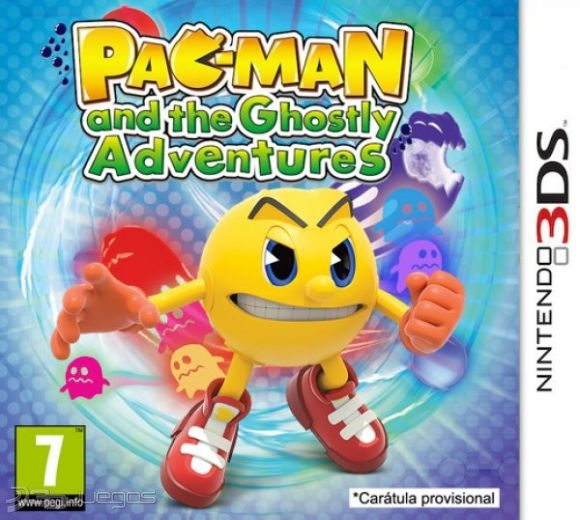 Boxshot Pac-Man and the Ghostly Adventures