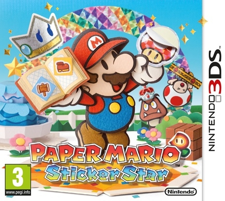 Boxshot Paper Mario: Sticker Star