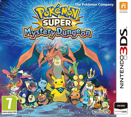 Boxshot Pokémon Super Mystery Dungeon