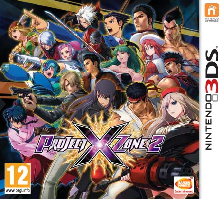 Boxshot Project X Zone 2
