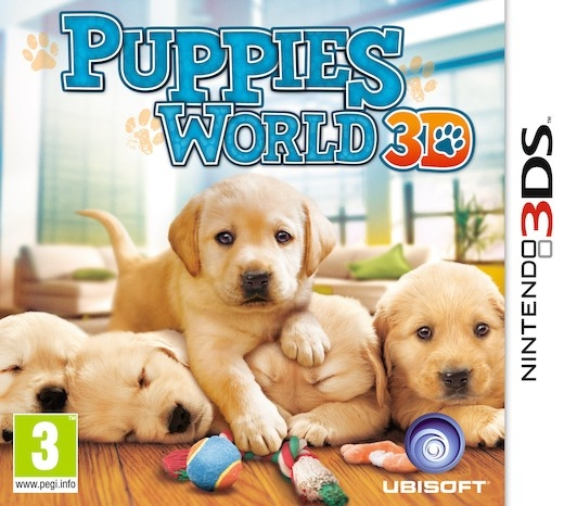 Boxshot Puppies World 3D
