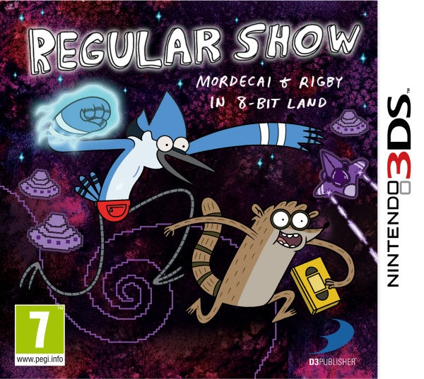 Boxshot Regular Show: Mordecai and Rigby in 8-Bit Land