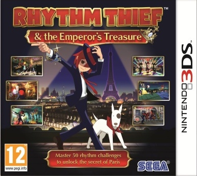 Boxshot Rhythm Thief & the Emperor's Treasure