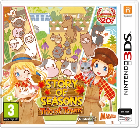 Boxshot Story of Seasons: Trio of Towns