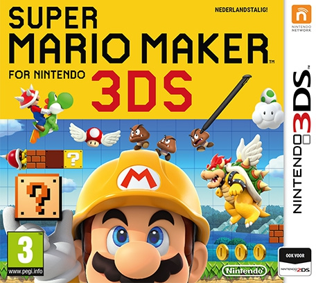 Boxshot Super Mario Maker for Nintendo 3DS