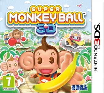Boxshot Super Monkey Ball 3D