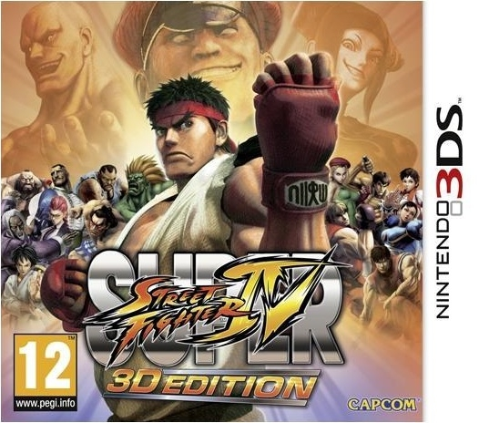Boxshot Super Street Fighter IV 3D Edition