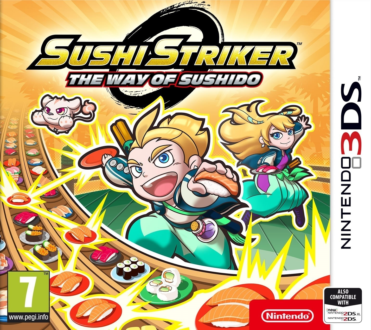Boxshot Sushi Striker: The Way of Sushido