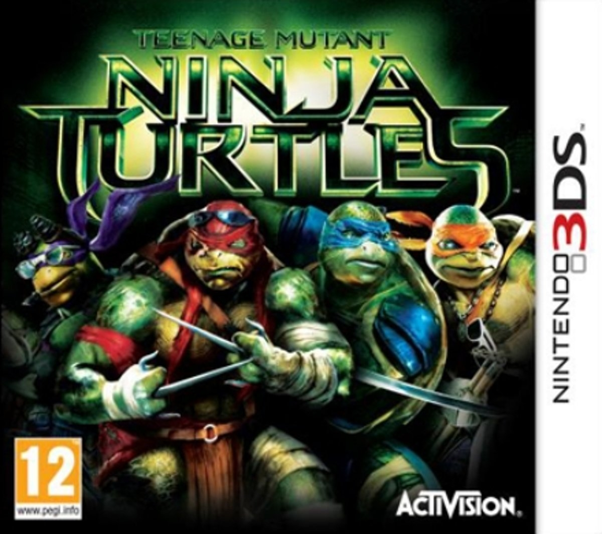 Boxshot Teenage Mutant Ninja Turtles