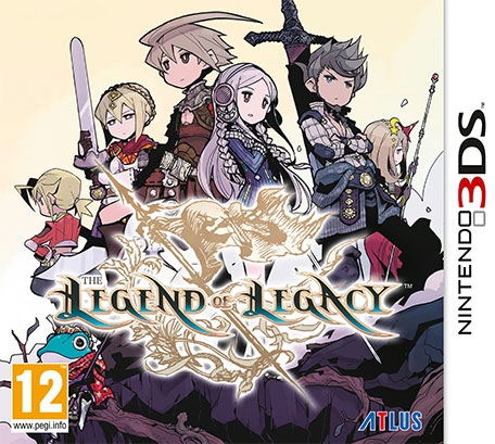 Boxshot The Legend of Legacy