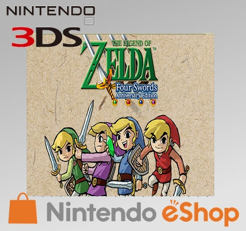 Boxshot The Legend of Zelda: Four Swords Anniversary Edition