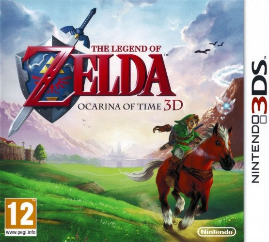 Boxshot The Legend of Zelda: Ocarina of Time 3D