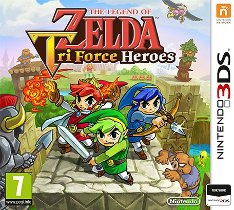 Boxshot The Legend of Zelda: Tri Force Heroes