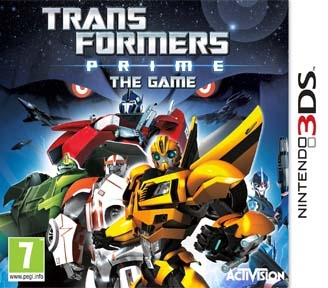 Boxshot Transformers Prime The Game