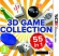 Box 3D Game Collection: 55 In 1