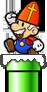 Sinterklaas Mario 3DS