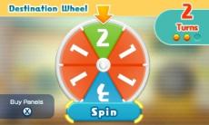 Review Chibi-Robo! Zip Lash: Door aan dit rad te draaien bepaal je wat het volgende level is dat je speelt.