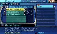 Review Etrian Odyssey Untold: The Millennium Girl: Met de Grimoire Stones kun je leren een zwaard te gebruiken als class die dat helemaal niet kan, of je kunt vuurballen leren gooien terwijl je helemaal geen kennis hebt van magie. Of het effectief is, dat is nog maar de vraag...
