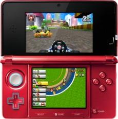 Review Mario Kart 7: Mario Kart in een 1e-persoons perspectief! Gebruik de gyrosensor en kantel je 3DS om te sturen!
