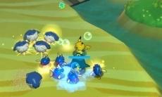 Review Pokémon Rumble World: Pikachu wordt in de val gelokt door een groep Pokemon. Welke strategie gaat hij gebruiken om zich te redden?