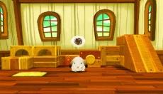 Review Professor Layton en het Masker der Wonderen: Maar als ze even genoeg hebben van puzzels, kunnen ze dit konijn helpen aan een acteercarrière.